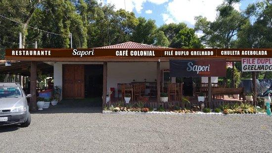 Bela Vista do Toldo, SC: Restaurante Sapori
