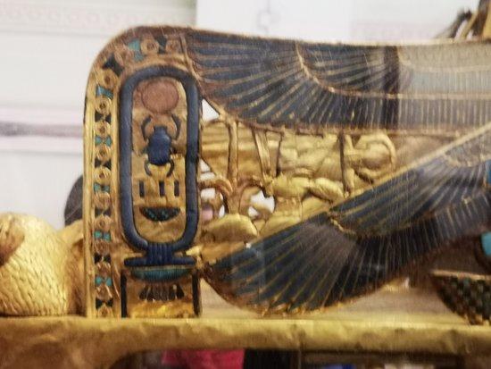 God Hathor & scarab