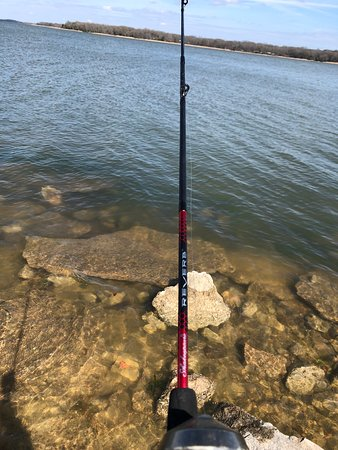 Fishing and rest! Lots to do at Fairfield State Park!