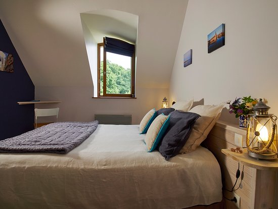 Melgven, Франция: Chambre Moros 1er étage