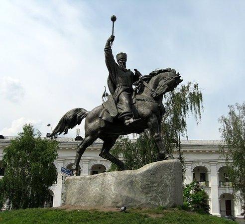 Monument Petra Sagaidachnogo