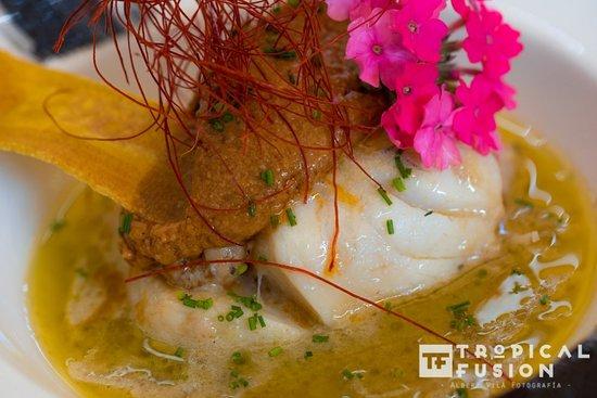 Sabroso, fresco, delicioso.....Tropical Fusion. Tasty, fresh, just delicious.....just Tropical Fusion.