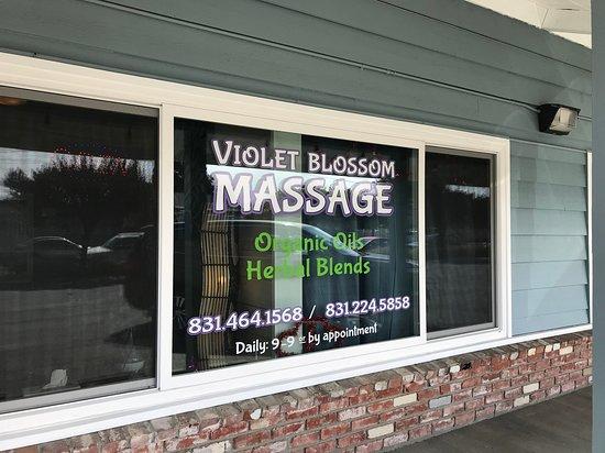 Violet Blossom Massage