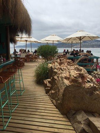 El mejor café a orillas del mar en Chile