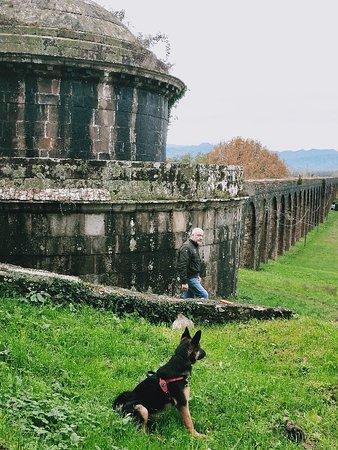 La nostra passeggiata preferita. Lungo gli Archi del Nottolini da Guamo a Lucca.