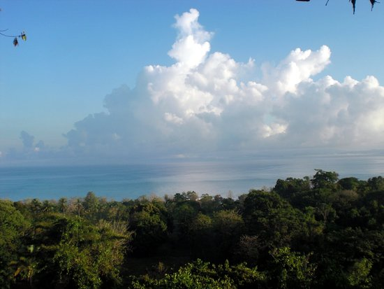 Pavones, Costa Rica: ENJOY A PANORAMIC GULF VIEW FOR YOUR MASSAGE SERVICE!
