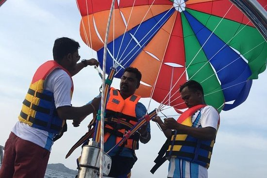 Andaman FlyAir Parasailing