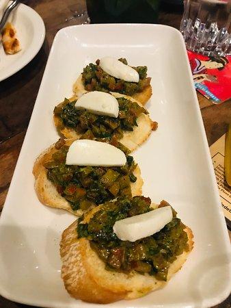 Mushroom & Olive Bruschetta