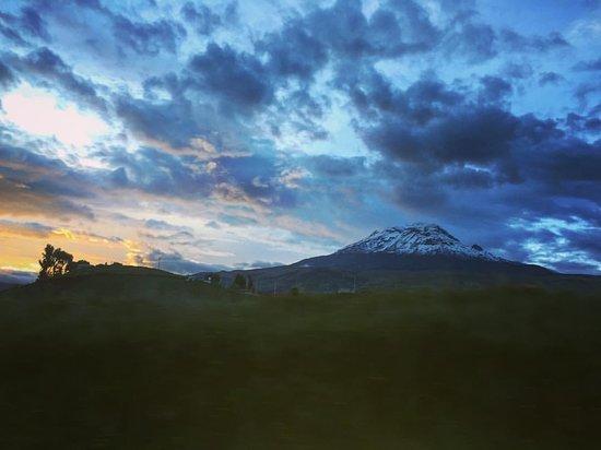 Провинция Чимборасо, Эквадор: Amanecer en el volcán Chimborazo
