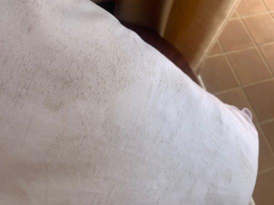 cuscino con muffa