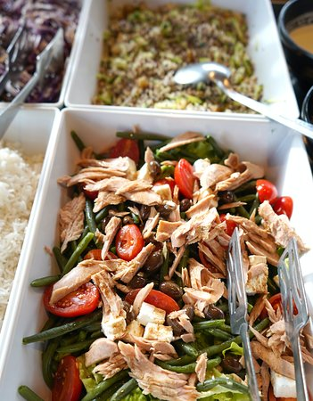 Buffet healthy aperto tutti i giorni dalle 12.00 alle 15.30