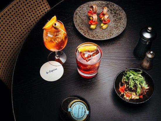 Aperitivo Menu - available daily 3pm-7pm, viewed here: https://le-caprice.co.uk/media/8999/le-caprice-aperitivo-menu.pdf