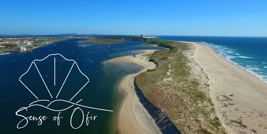 Ofir, Portugal: Vue aérienne de l'endroit