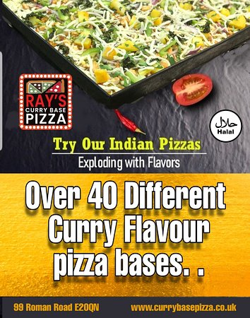 Over 40 Different curry bases Flavours to choose from...