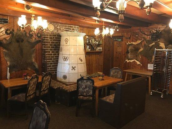 Martinova bouda - Restaurant: Teil des Gastraums