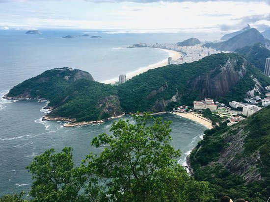 Rio de Janieros from the top of Sugar Loaf Mountain