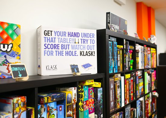 Worthing, UK: Over 650 games to choose from.