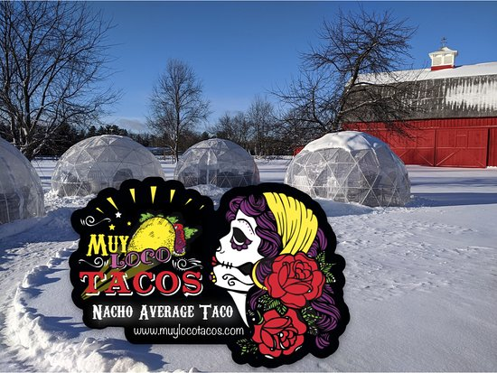 Frankfort, ME: Igloos, beer, mead, wine and TACOS