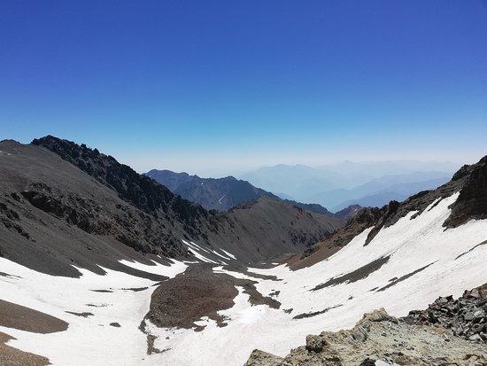 Kelardasht, Iran: Natural mountain Glacier
