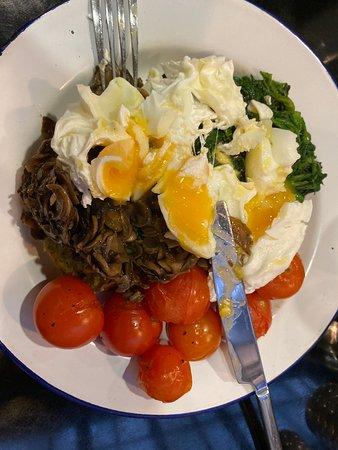 Veggie breaky! Super healthy and super tasty!