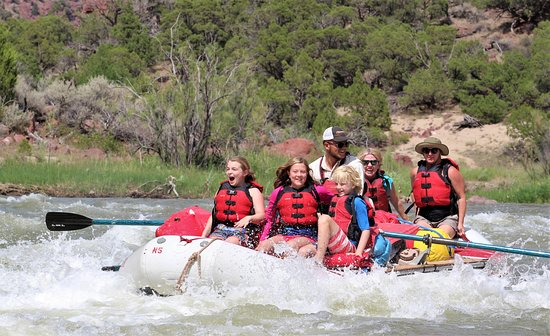 Vernal, UT: White Water River Rafting on the Green River Gates of Lodore Dinosaur National Monument.