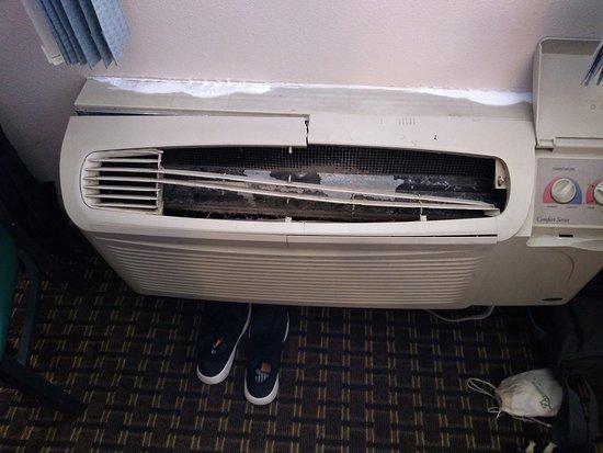 Wausaukee, WI: Smashed up heater