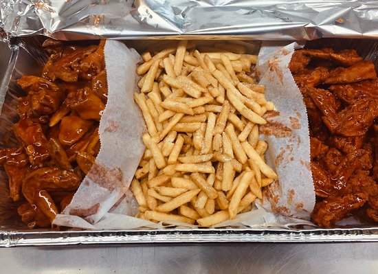 Party wing  trays