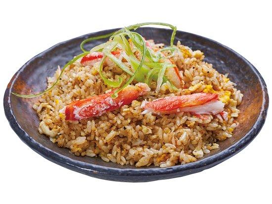 カニチャーハン Crab Fried Rice 螃蟹炒饭 게 볶음밥