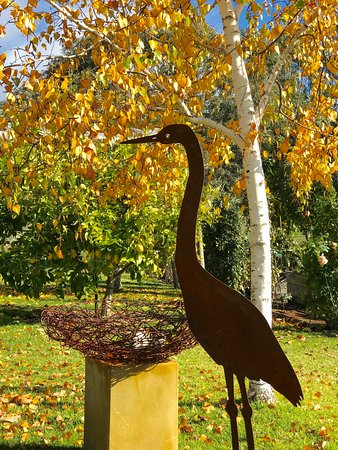 Sutton Grange, Úc: The spectacular colours of Autumn are a highlight of the garden