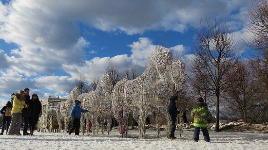 Tsaritsyno Ozero, Russia: Парк Царицыно