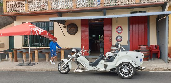 Madeira - 4 Hour tour as passenger, our driver (1 to 2 people - price per Trike): Poncha stop off!