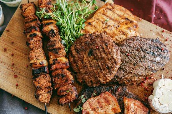 mięsa z grilla