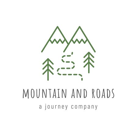 ‪Mountain and Roads‬