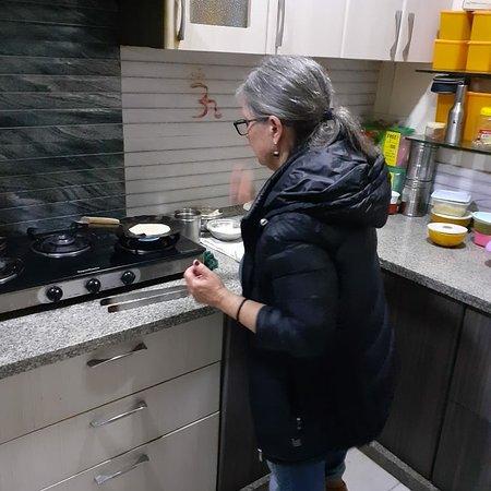 Jaipur, Indien: Cooking demo