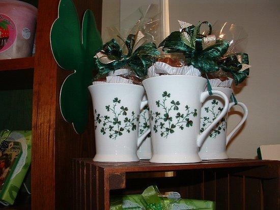 Saint Patrick's Day mugs!
