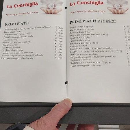 Magenta, Italien: Ristorante La Conchiglia