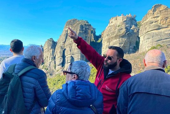 Athens Meteora Monasteries Day Trip by...