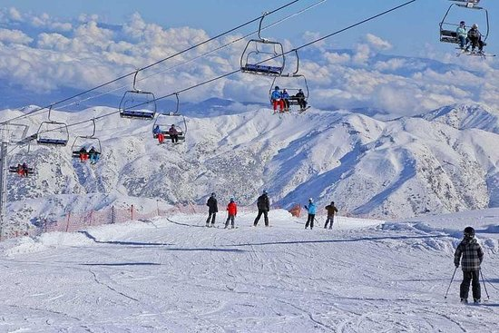 私人交通:安第斯山脉的滑雪