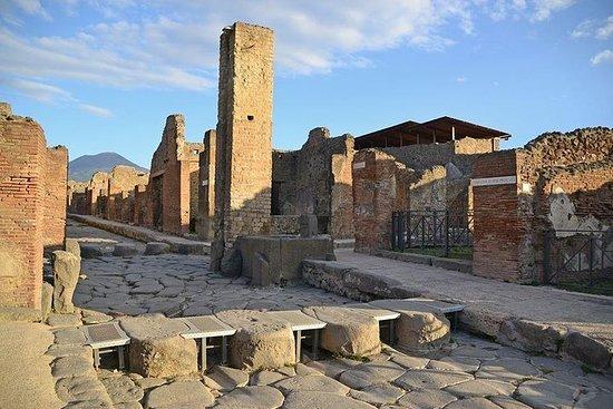 Pompeii and Herculaneum tour