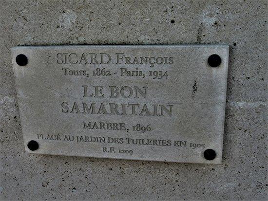 Statue Le bon Samaritain