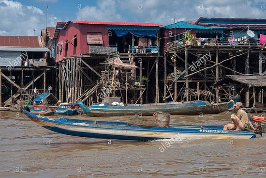 Explore Siem Reap Floating Village...