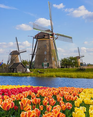 Kinderdijk, Nizozemsko: Is it spring yet? Click the link in our intro to get a head start.