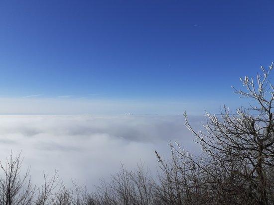 Milesov, Csehország: Výhled na mraky