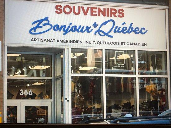 Souvenirs Bonjour Quebec
