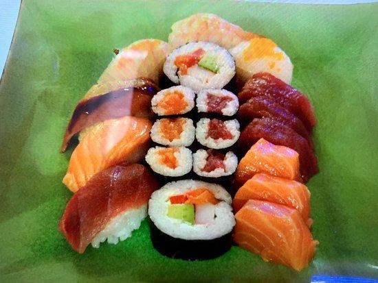 Sushi Buffet Picture Of Samurai Sushi Frankfurt Tripadvisor