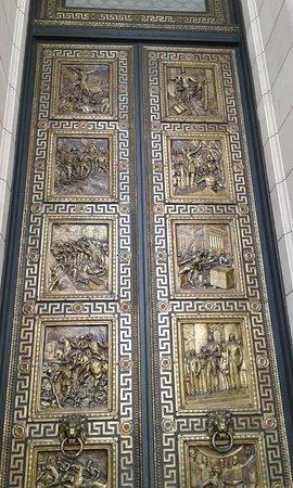 Espectacular puerta