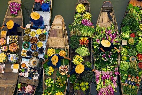 私人旅遊:曼谷的Damnoen Saduak水上市場之旅