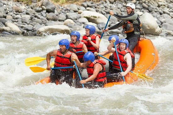 Whitewater Rafting on the Chirripó...