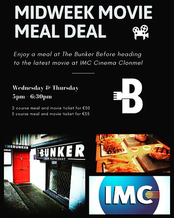 THE BUNKER, Clonmel - Menu, Prices - TripAdvisor