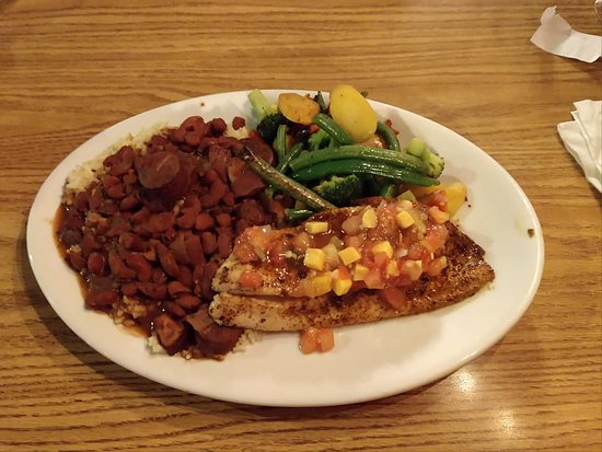 Melrose, FL: Blackened Redfish
